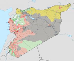 syrianwarwiki carte wikipedia